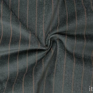 Костюмная ткань в рубчик 400 г/м2, узор полоска (8902)