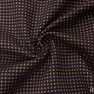 Костюмная ткань 220 г/м2, узор геометрический (8939)
